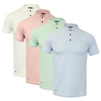 Men's Tokyo Laundry Premium Cotton Stretch Fit Summer Polo Shirt NEW SS18