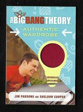 2016 Big Bang Theory Seasons 6 & 7 Wardrobe Costume Card M17 Jim Parsons SHELDON
