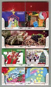 Venezuela 2016 Weihnachten Heilige Familie Musik Uhr Christmas Navidad MNH