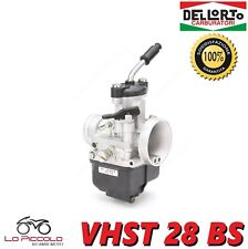 R9364 CARBURATEUR DELL'ORTO PHBG 28 BS RACING VANNE PLATE VESPA SCOOTER AM6