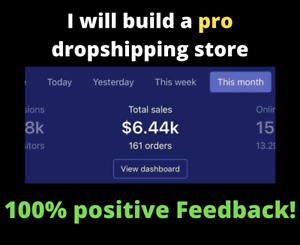 I Will Build A Custom Automated Shopify Dropshipping Website - Ready in 48 hours