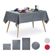 Tischdecke wasserabweisend Tischtuch Gartentischdecke Tafeldecke rund o. eckig