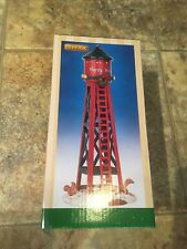 Lemax HAPPY HOLIDAYS Water Tower Holiday Village /Train