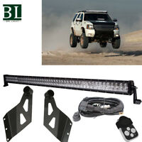 "For 02-09 Dodge Ram 1500/2500/3500 50""INCH 288W LED Light Bar Roof Mount Bracket"