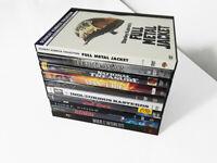 Action, Thriller, War Movies 10 DVD Lot - Full Metal Jacket, Man on Fire...
