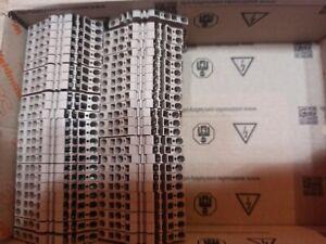 50* Weidmüller Reihenklemmen ZDU 2,5-2/3AN 0,5 Kartons neu