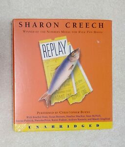 REPLAY Unabridged Audiobook Sharon Creech 2.5 Hour 3 CD SET New in Package