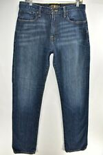 Lucky Brand Mens Jeans Classic Straight Leg Size 32x34 Blue Meas 31x34 Stretch