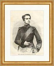 Ludwig II., König von Baiern Bayern Deutsches Reich München Holzstich E 5315