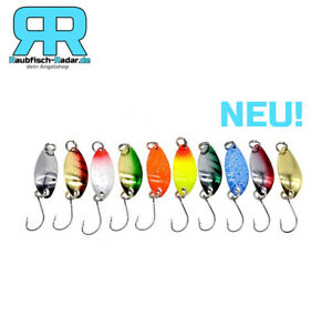 Radar Trout Spoon 10er Pack Forellen Blinker / Spinner Angelset 2,5g