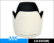JJC Replacement Lens Hood ET-83II For CANON EF 70-200mm f/2.8L USM Lens-White