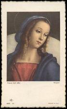 "santino-holy card""""ediz. NB serie ARTE  n.30 MADONNA"