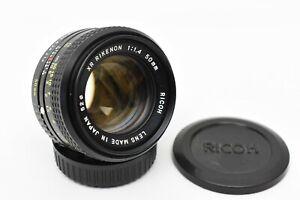 Ricoh XR Rikenon 50mm f/1.4 1:1.4 Pentax K Mount