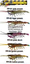 fishing lures River2Sea Chasebaits Flick Prawn 125mm Soft Plastic Lure x5 colors