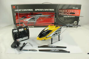BIG REMOTE CONTROL RC HELICOPTERS LH-1201 3.5 CHANNEL/EASY TO FLY