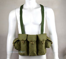 Original Vietnam War Chinese Type 56 Chest Rig Ammo Pouch F AK Rifle pouches