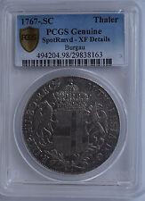 Austrian States ,Burgau  Maria Theresia Silver Convention Thaler 1767 PCGS XF