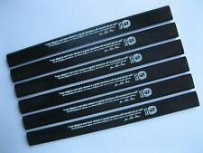 J. S. Bach Carpenter Pencil - 6 pack, color: Black