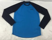 Under Armour MEN'S Long Sleeves Thermal Loose Blue 1291312 Size S