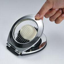 2in1 Egg Slicer Section Cutter Divider Stainless Steel Egg Splitter Kitchen Tool