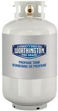 Refillable 30lb Empty Liquid Propane Tank BBQ Grill Cylinder 7.1 Gal Pre-Purged