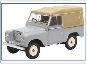LR3S003 Land Rover Series III SWB Pritsche/Plane, hellgrau,Oxford 1:43,NEU &