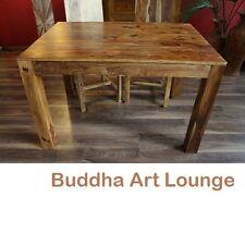 Esstisch Küchentisch Sheesham Holz 120x80x77 Honig Massiv Tisch Schreibtisch Neu