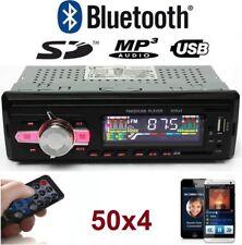 Radio para coche con bluetooth 50X4 MICRO-SD/USB/AUX FM MP3 Mando a distancia