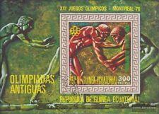 Äquatorialguinea block202 (complete issue) fine used / cancelled 1975 Olympics S