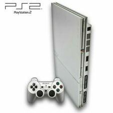 PS2 - Sony Playstation 2 Slim Konsole in Silber / Silver +++TOP ZUSTAND+++