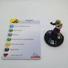 Heroclix The Brave and the Bold set Brainiac #031 Rare figure w/card!