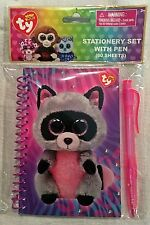 Ty Beanie Boos Rocco Stationery Set with Pen - FREE SHIPPING