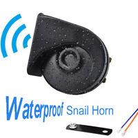 Car Snail Horn 12V 110-125db Loud Waterproof For Vehicle Motorcycle Van Truck