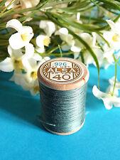 730B / Beautiful Coil Old Thread DMC Cotton Alsa No. 40 Pigeon Blue No. 926