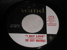 The Isley brothers: I Say Love / Hold On Baby 45 - Soul