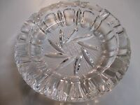 Vintage Cigarette Star Ashtray Glass Smoking Antique Tobacco Cigar 6 inch