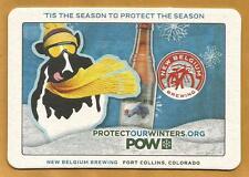 16 New Belgium 'Tis The Season To Protect The Season POW  Beer Coasters