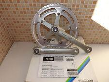 SHIMANO 105 CRANKSETS 52/42 VINTAGE GENUINE PARTS ROAD BIKE 170MM SUPER GLIDE