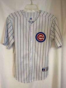 Vintage Youth Chicago Cubs Greg Maddux Russell Jersey size L 14/16