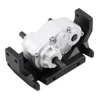 CNC Sub-Transmission Gear Box Transfer Case for SCX10 /D90 1/10 RC Crawler Car d