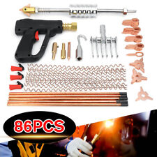 Car Body Dent Welder Puller Spot Repair Device Welding Gun Slide Hammer Set