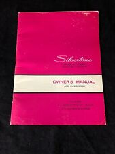 VTG. SEARS SILVERTONE TRANSISTOR ORGANS OWNERS MANUAL AND MUSIC BOOK. #4788/4790