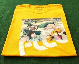 FLCL Shirt Fooly Cooly Anime Made in USA Size Lrg