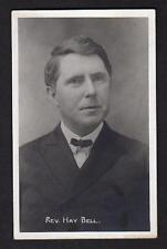 1904-1918 RPPC*REV HAY BELL*AZO POSTCARD BY J INBODY*ELKHART IND*REAL PHOTO