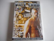 DVD NEUF - VALE TUDO / EDITION COLLECTOR IVC 6 - IVC 7 - ZONE 2