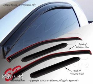 Vent Shade Window Visors For Dodge Charger 06 07 08 09 10 SXT Sedan 4 Door