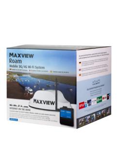 Maxview Roam Mobile 3G / 4G Wi-Fi On The Go Internet Caravan Motorhome Smart TV