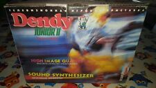 DENDY JUNIOR II FAMICLONE (FAMICOM-SUPER NES) CONSOLE COMPLETO SCATOLA ACCESSORI