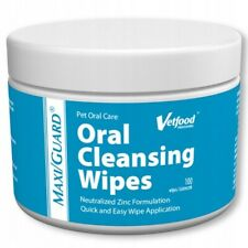 Vetfood MAXI/GUARD Oral Cleansing Wipes (100 count)