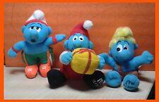 Mc Donald  Smurf Plush Toys Soft Toy Happy Meals